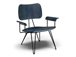 Diesel with Moroso Overdyed Lounge Chair