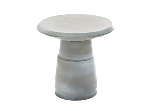 View Diesel with Moroso Piston Side Table