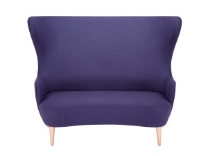 Tom Dixon Wingback Sofa with Copper Legs