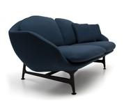 Cassina 399 Vico Two Seater Sofa