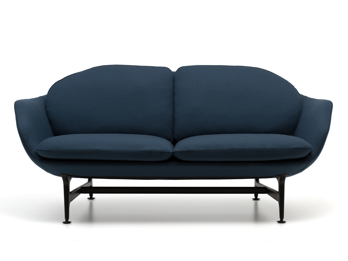 Lovely Cassina 399 Vico Two Seater Sofa ...