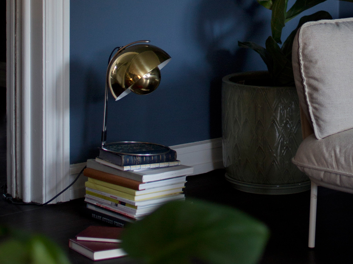 Buy The AmpTradition Flowerpot VP4 Table Lamp Brass At Nest