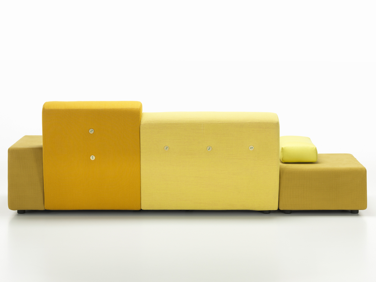 buy the vitra polder sofa golden yellow at nestcouk -  vitra polder sofa golden yellow