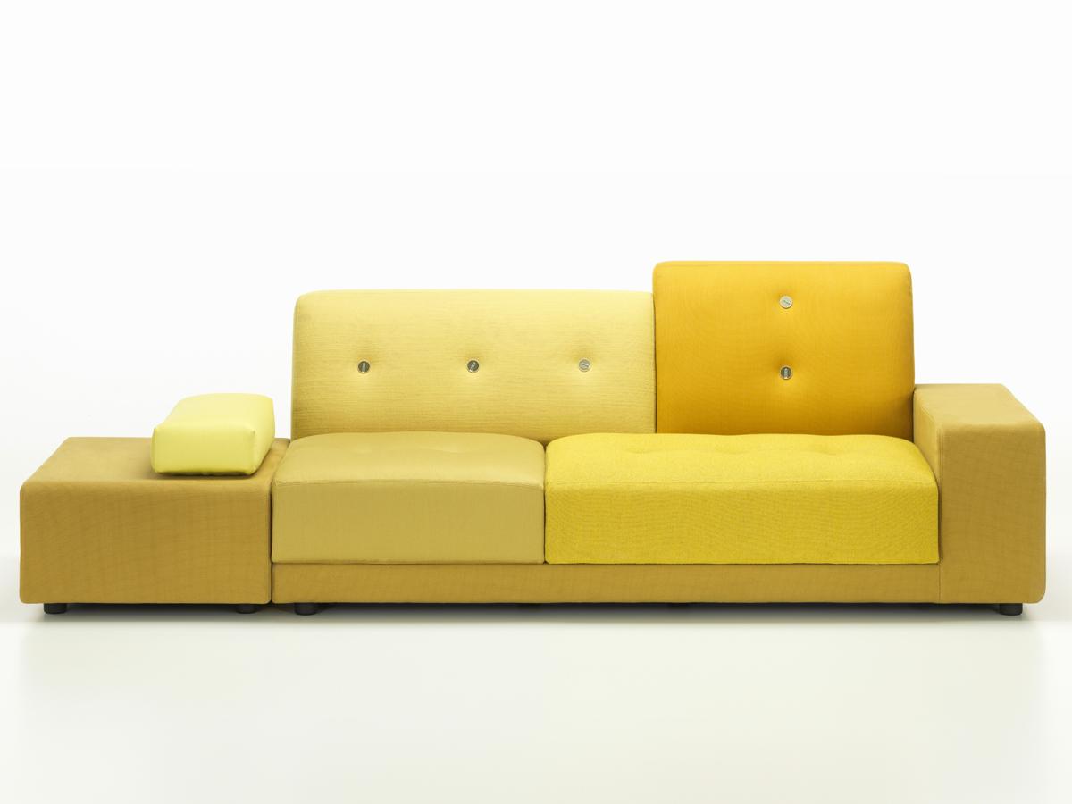 buy the vitra polder sofa golden yellow at. Black Bedroom Furniture Sets. Home Design Ideas