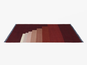 View &Tradition Another Rug Red Vulcano