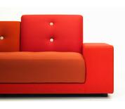 Vitra Polder Compact Sofa Red