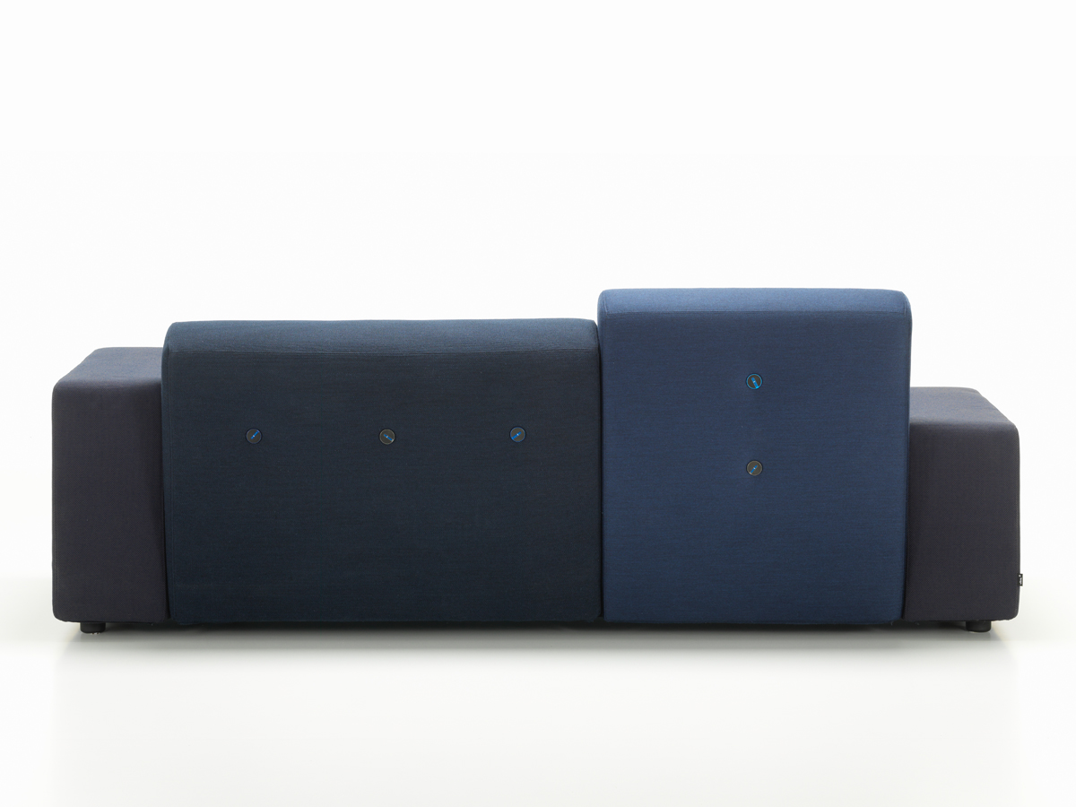 buy the vitra polder compact sofa night blue at nestcouk -  vitra polder compact sofa night blue