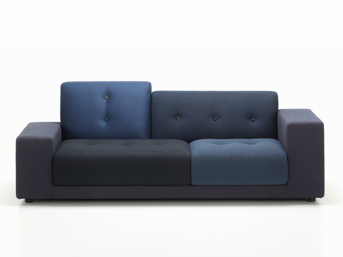 buy the vitra polder compact sofa night blue at. Black Bedroom Furniture Sets. Home Design Ideas