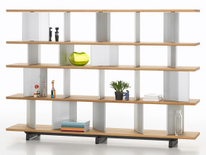 View Vitra Planophore Wide Bookshelf High