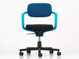 View Vitra Allstar Office Swivel Chair Aquamarine