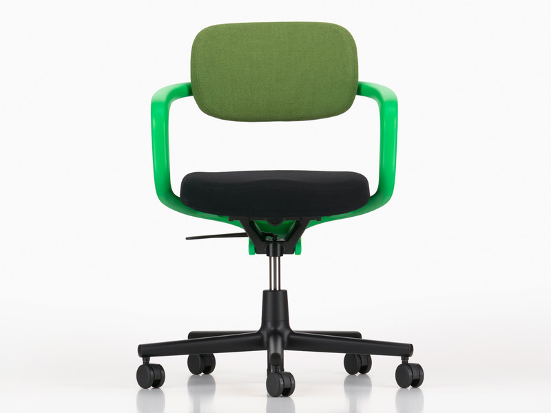 Vitra Allstar Office Swivel Chair Signal Green