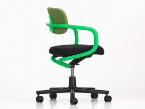 Vitra Allstar Office Swivel Chair Signal Green
