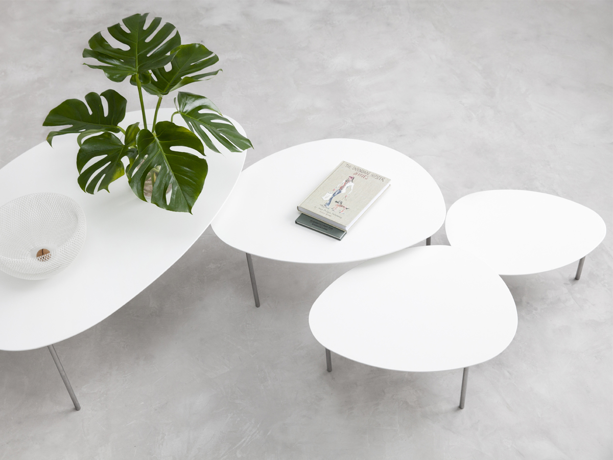 Buy the stua eclipse nesting tables white at nest stua eclipse nesting tables white 12345 watchthetrailerfo