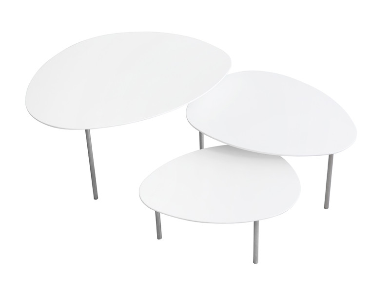 Buy the stua eclipse nesting tables white at nest stua eclipse nesting tables white watchthetrailerfo