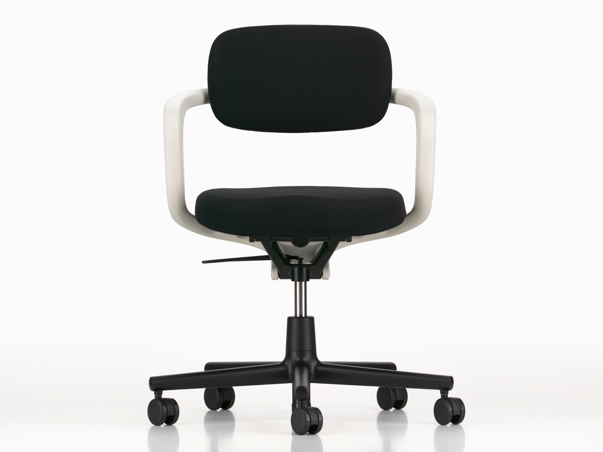 contemporary office desks  modern office furniture  chairs  - view vitra allstar office swivel chair white