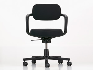 View Vitra Allstar Office Swivel Chair Deep Black