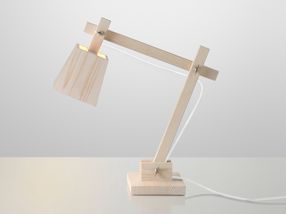 Buy The Muuto Wood Table Lamp At Nest Co Uk