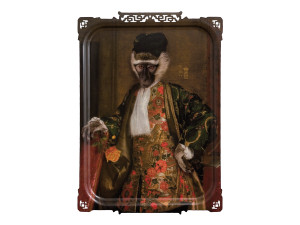 View ibride Cornelius The Monkey Gentleman Tray