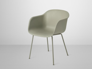 Muuto Fiber Armchair Tube Base