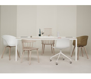 Hay T12 Dining Table White