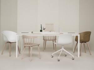 View Hay T12 Dining Table White