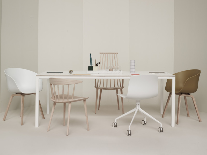 Buy The Hay T12 Dining Table White At Nestcouk