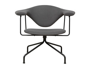 View Gubi Masculo Lounge Chair Swivel Base