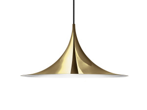 View Gubi Semi Pendant Light Brass