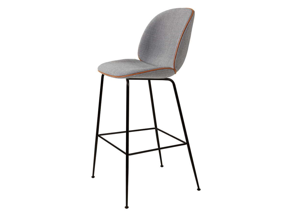 Buy The Gubi Beetle Bar Chair In Remix Fabric At Nest Co Uk