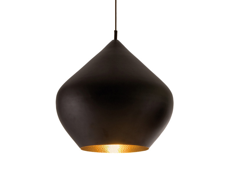 buy the tom dixon beat light stout black at. Black Bedroom Furniture Sets. Home Design Ideas