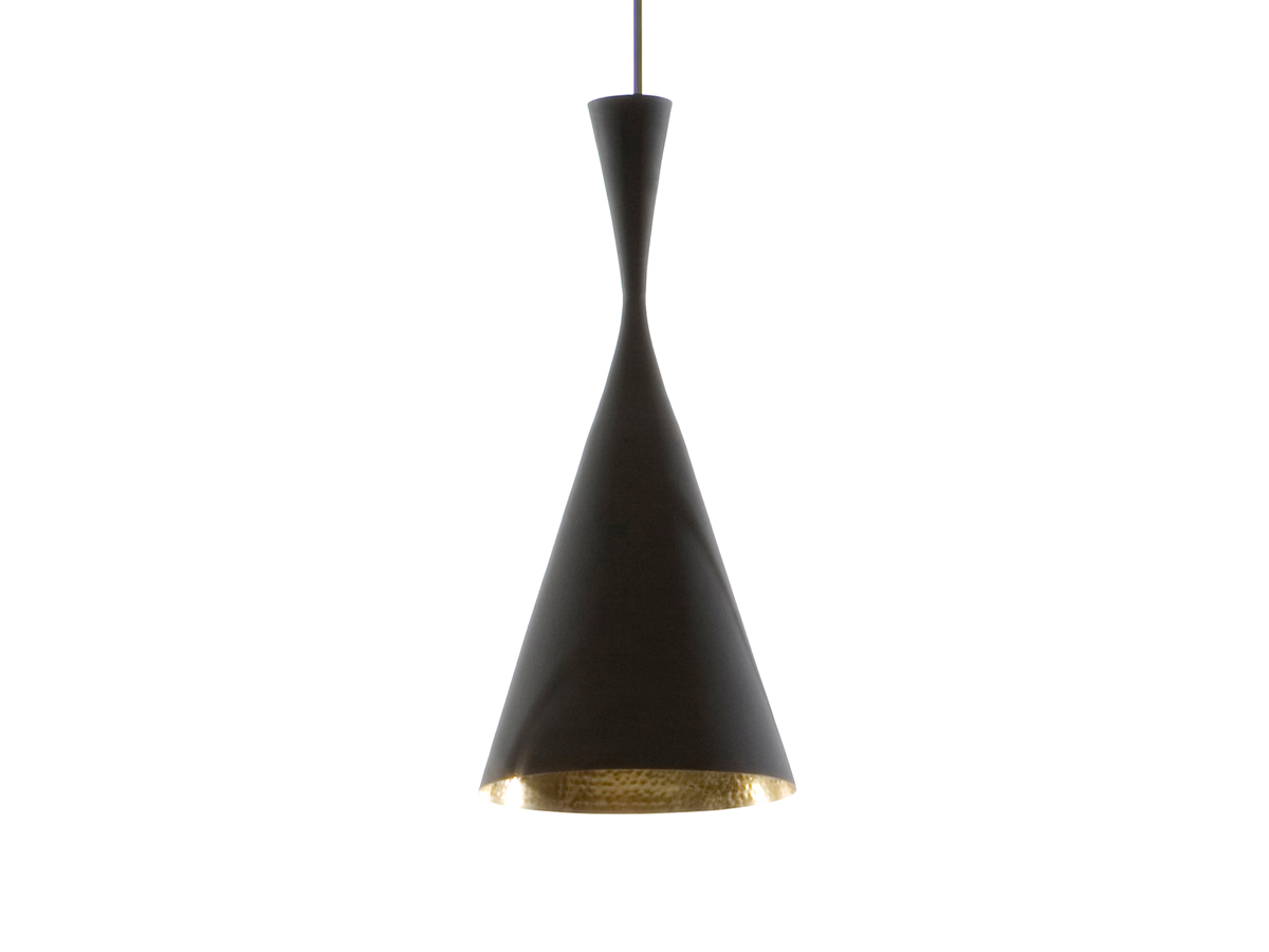 buy the tom dixon beat light tall black at. Black Bedroom Furniture Sets. Home Design Ideas