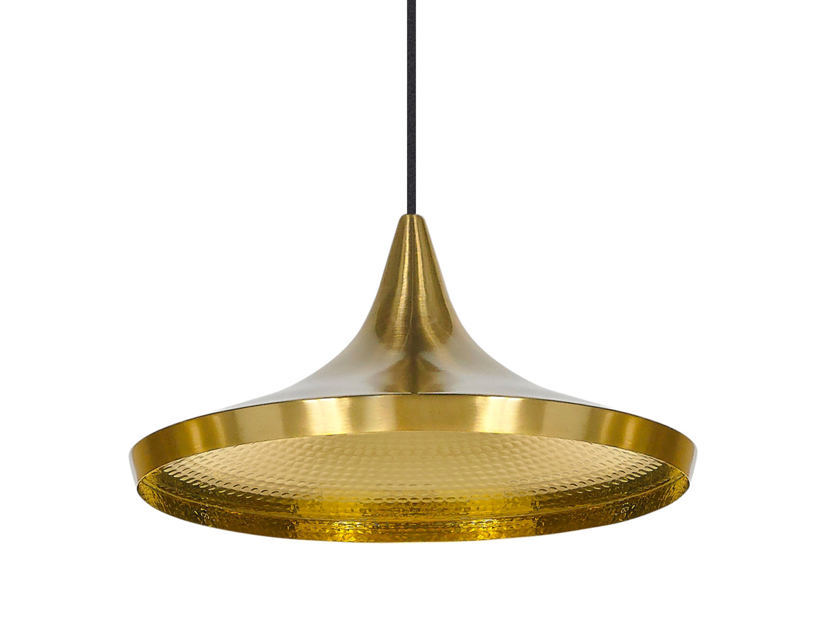 buy the tom dixon beat light wide  brass at nestcouk - tom dixon beat light wide  brass