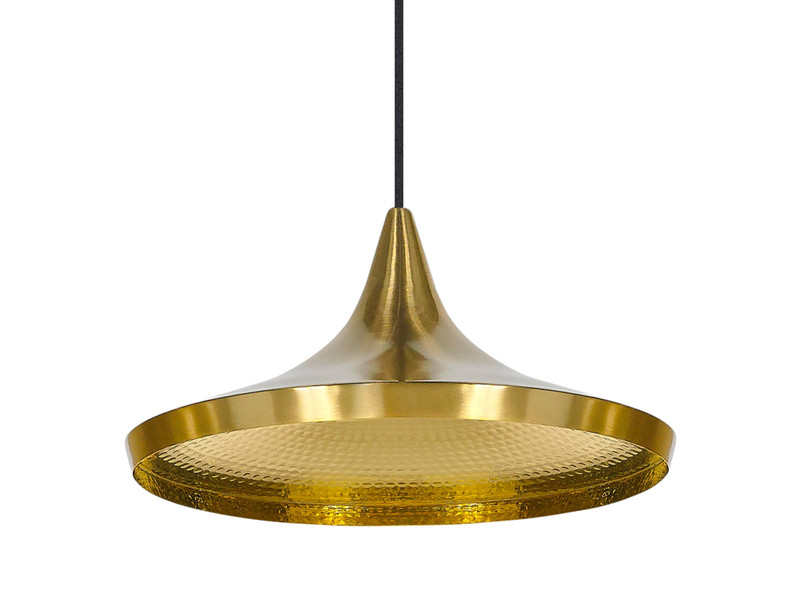 Buy the Tom Dixon Beat Light Wide - Brass at Nest.co.uk