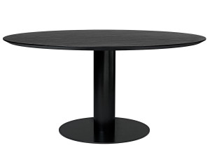 Gubi Table 2.0 Black Laminate