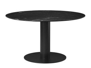 View Gubi Table 2.0 Black Marble