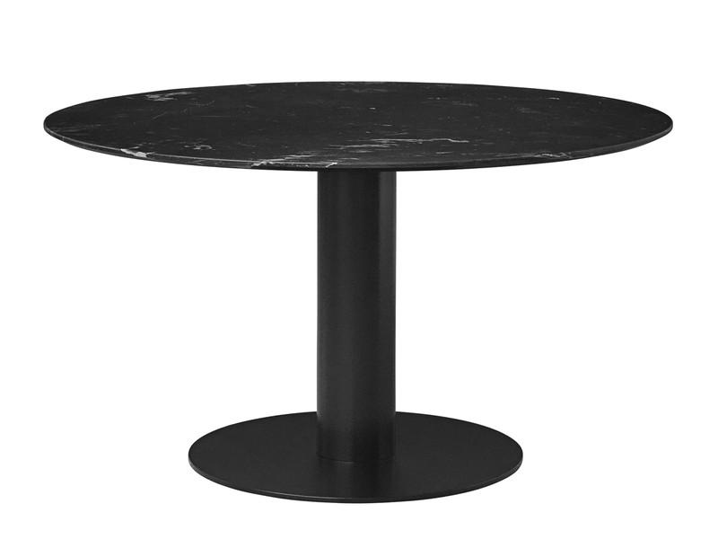 Gubi Table 2.0 Black Marble