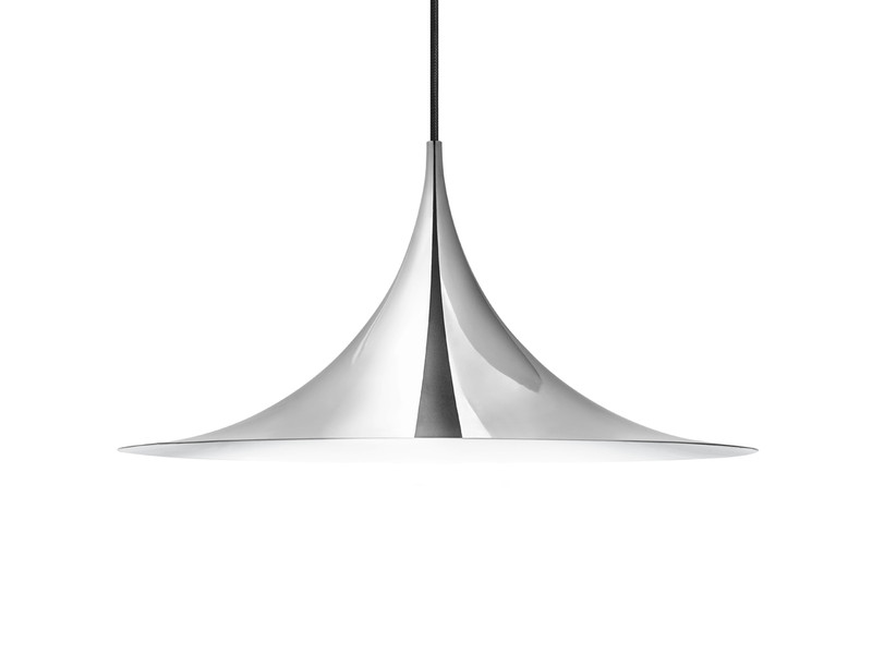 Gubi Semi Pendant Light Chrome