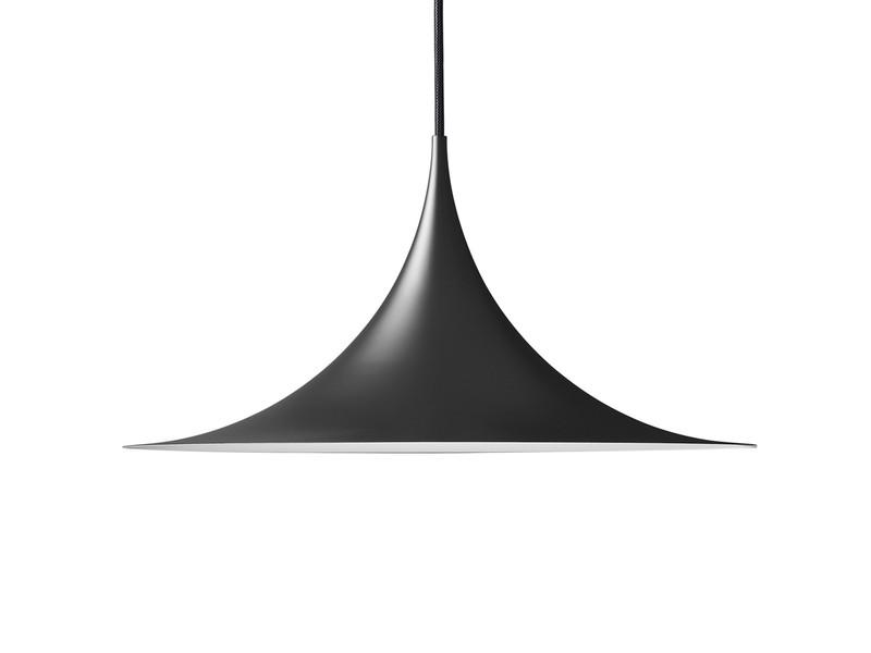 black pendant lighting. Gubi Semi Pendant Light Black Lighting V