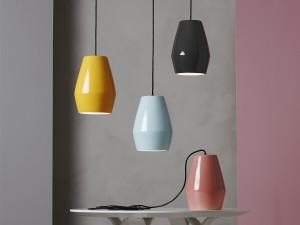 Northern Lighting Bell Pendant Light