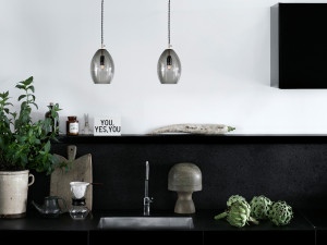 View Northern Lighting Unika Pendant Light Grey