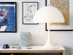 View Louis Poulsen Panthella Table Lamp