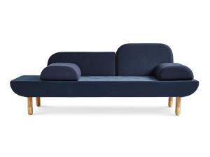 Erik Jorgensen EJ 123 Toward Sofa Blue