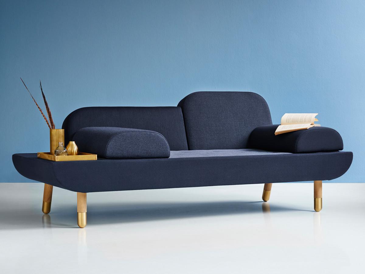 buy the erik jorgensen ej 123 toward sofa blue at. Black Bedroom Furniture Sets. Home Design Ideas