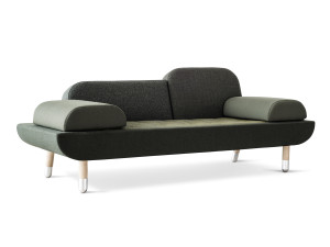 View Erik Jorgensen EJ 123 Toward Sofa Green