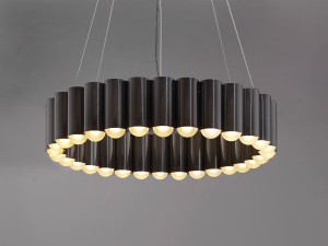 Lee Broom Carousel Gunmetal Pendant Light