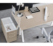 String Works Height-Adjustable Desk