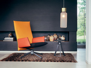 Knoll Pilot Chair with High Back - Multicoloured
