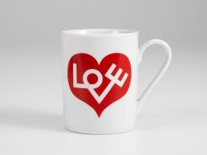 View Vitra Love Heart Coffee Mug Red