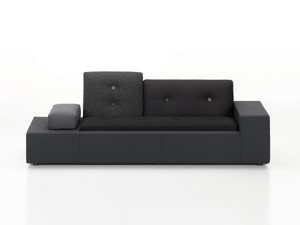 View Clearance Vitra XS Polder Sofa Anthracite