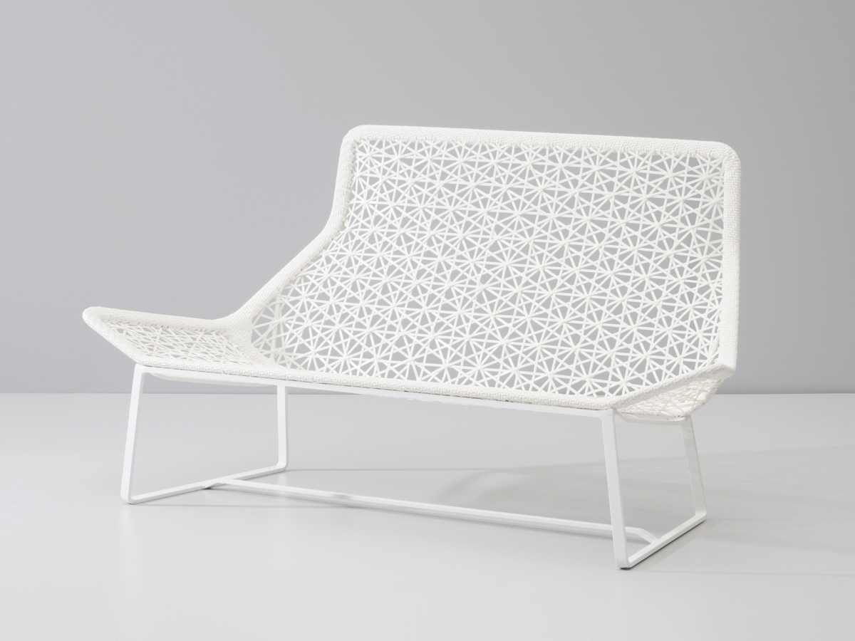 Buy the kettal maia two seater sofa at for Kettal maia chair